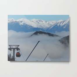 Travel to Slovakia for the ski resort of Jasna Metal Print