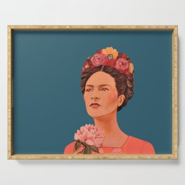 moi, Frida! Serving Tray