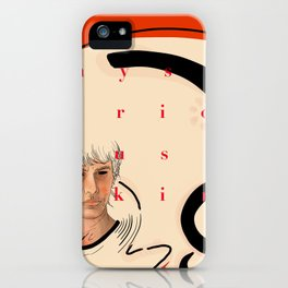 mysterious skin iPhone Case
