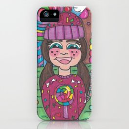 Return to Candy Land iPhone Case