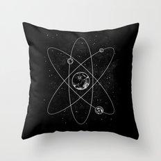 Atom Throw Pillow