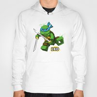 leo Hoodies featuring Leo by le.duc