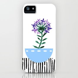 Potted Plant 6 iPhone Case