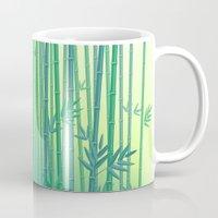 serenity Mugs featuring Serenity by Natalia Linn