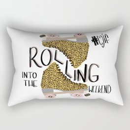 ROLLING INTO THE WEEKEND Rectangular Pillow