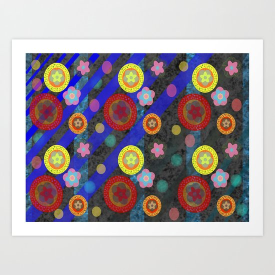 Buttons and Bobs Art Print