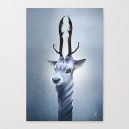Antler beast Canvas Print
