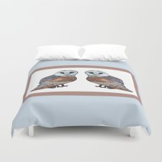 The Owl Collection - Barn Owl Duvet Cover