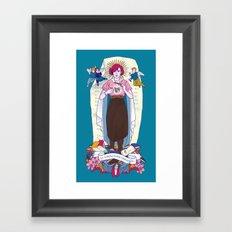 Virgen de Shermer Framed Art Print