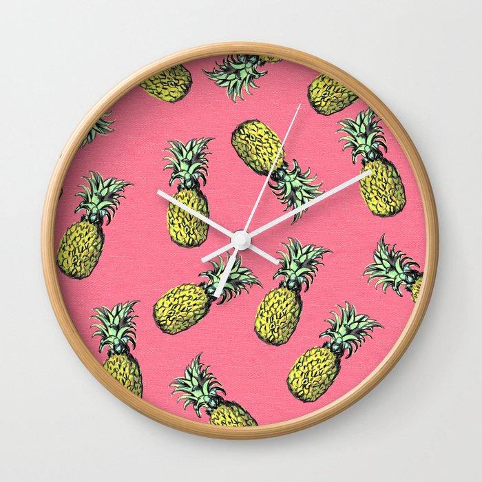 fresh pineapple! Wall Clock