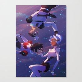 Spaced (trio) Canvas Print