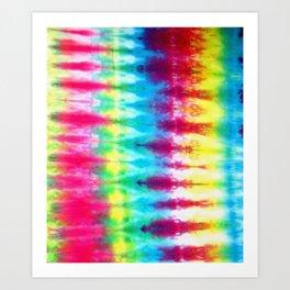 2329f7f9ae93 Boho Tie Dye Art Print