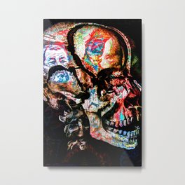 Skulltattoo Metal Print