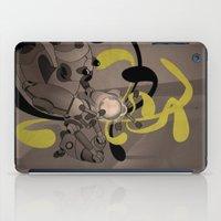 fullmetal alchemist iPad Cases featuring The Alchemist 014 by Alex.Raveland...robot.design.digital.art