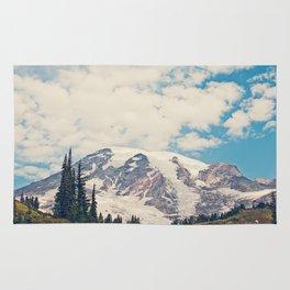 Mount Rainier Rug
