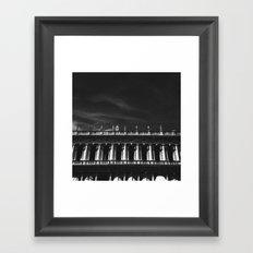 Above the edge Framed Art Print