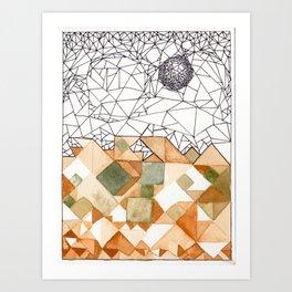 """Alyssa Ney, """"A Primer on Emergence"""" Art Print"""