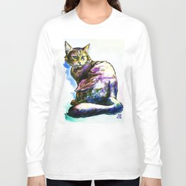 Ms. KittyLittleHead Long Sleeve T-shirt