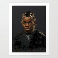 django Art Prints featuring Django by StarArtist