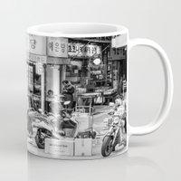 seoul Mugs featuring Everyday Seoul by Jennifer Stinson