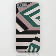 ASDIC/SONAR Dazzle Camouflage Graphic Design iPhone 6s Slim Case