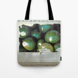 Lime Truck Tote Bag