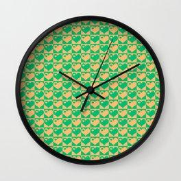 Herzen Liebes Collage Wall Clock