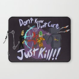 Surviving the Downpour Laptop Sleeve