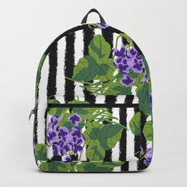 Sweet Violet - Birth Month Flower For February Backpack