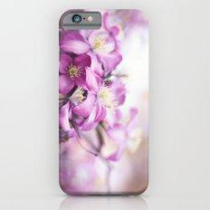 purple clematis iPhone 6s Slim Case