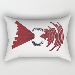 Newspeak Rectangular Pillow