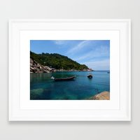 thailand Framed Art Prints featuring Thailand by Irma Rose Photography