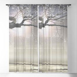 The Ice Storm - New England Sheer Curtain