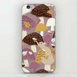 Fall Acorn Hunt iPhone Skin