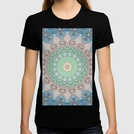 Earth Tone Pastels Mandala T-shirt