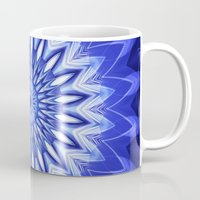 parks and recreation Mugs featuring Mandala Recreation by Christine baessler
