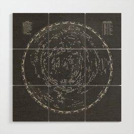 Star Map Wood Wall Art
