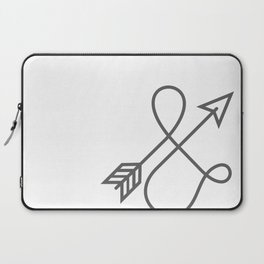 Follow your arrow - no matter the direction. Laptop Sleeve