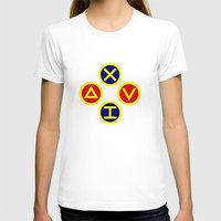 playstation T-shirts featuring Playstation Footballer by Dale Roots