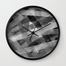 Abstrakt N1BW Wall Clock