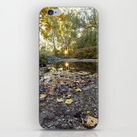 indiana iPhone & iPod Skins featuring indiana fall by Bonnie Jakobsen-Martin