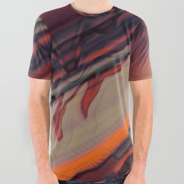 Color Wave ~033~ All Over Graphic Tee