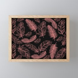 Chic and contemporary spirit Framed Mini Art Print