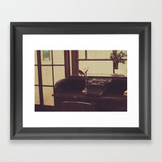 mold and cold Framed Art Print