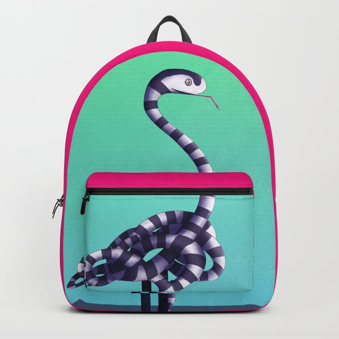 Nice Try, Flamingo! Backpack