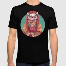 Imperial Guardian Lady LARGE Mens Fitted Tee Black