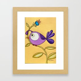 All Dressed Up for the Ladies Framed Art Print