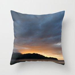 Hanalei Throw Pillow