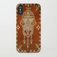 hamsa iPhone & iPod Cases featuring Hamsa by Our Folk Life