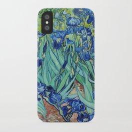 Famous art, Iris by Vincent van Gogh.   iPhone Case
